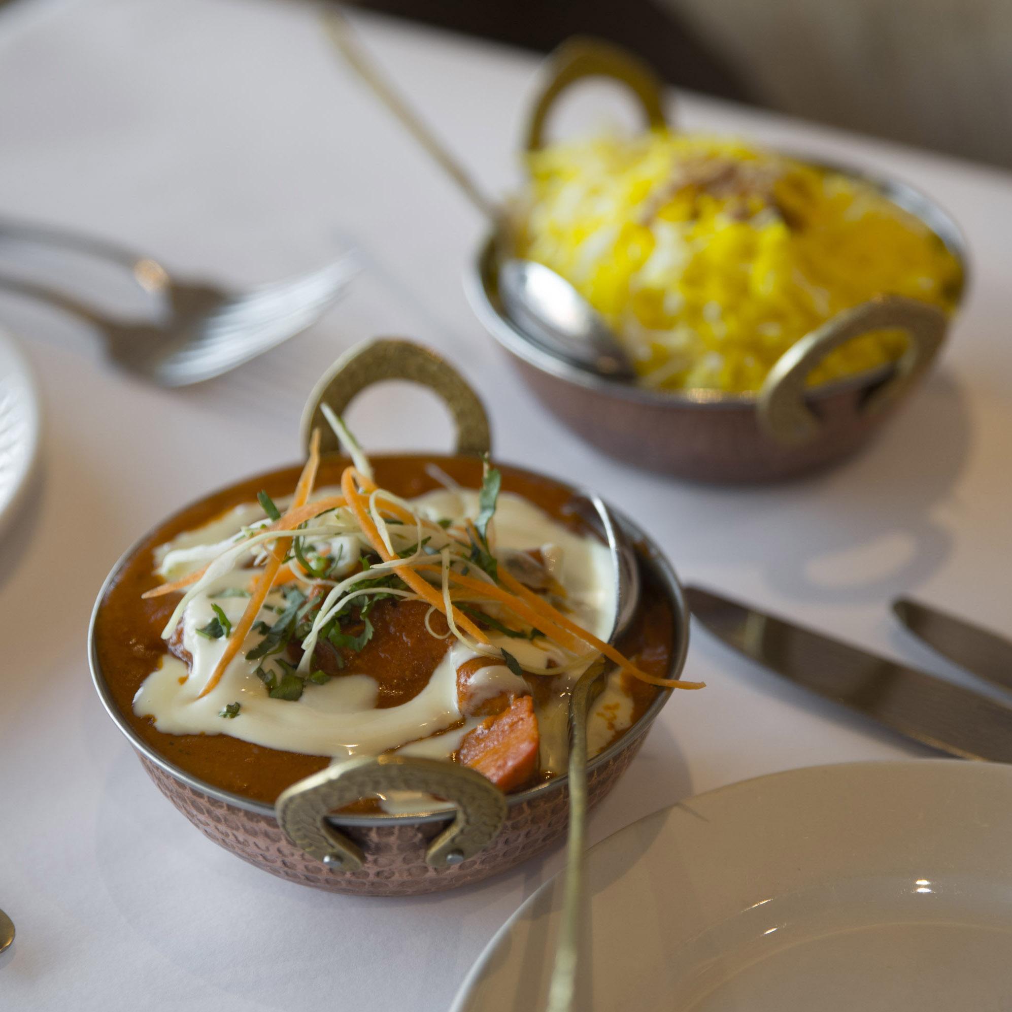 Balti Chicken Malai