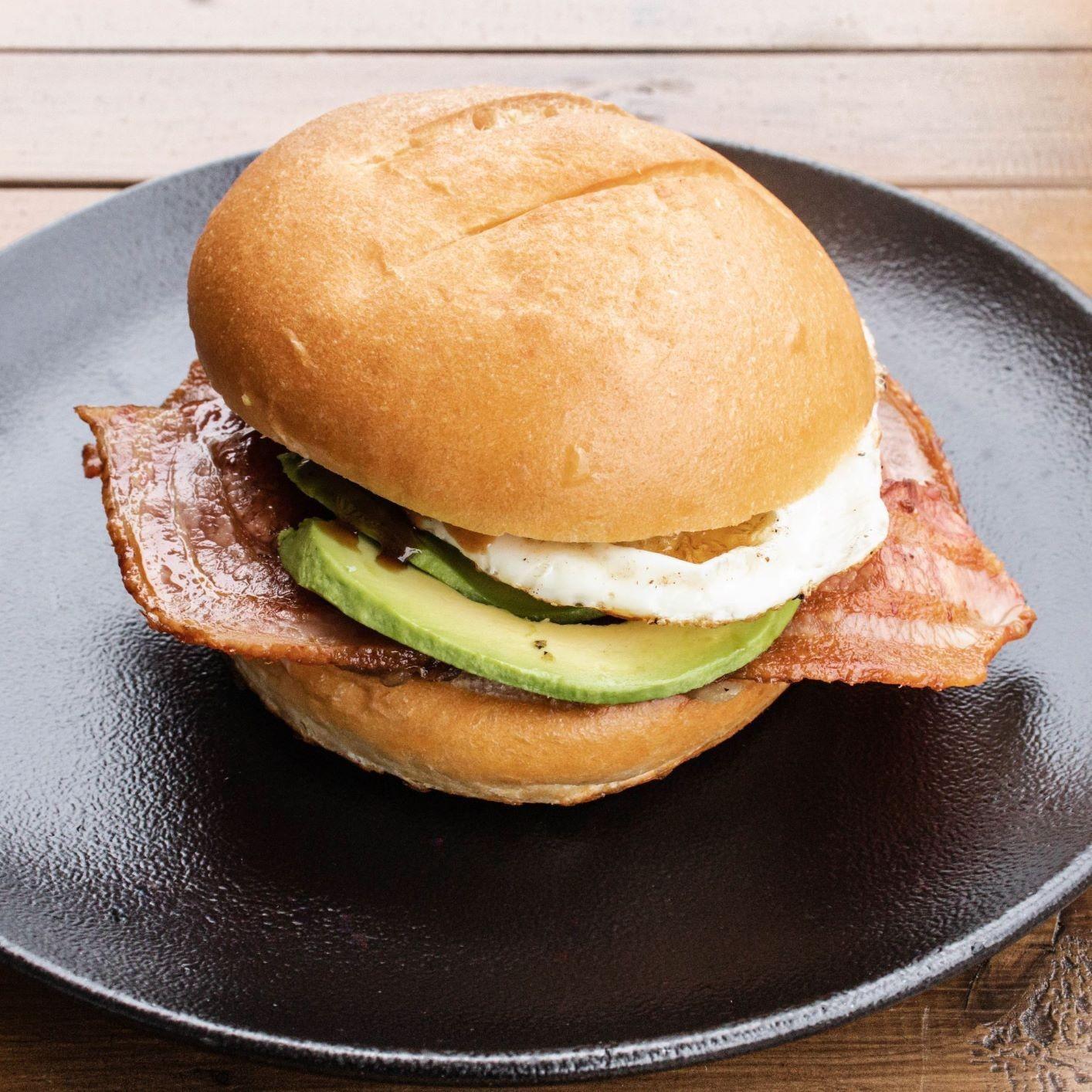 Bacon Egg Roll w Avocado