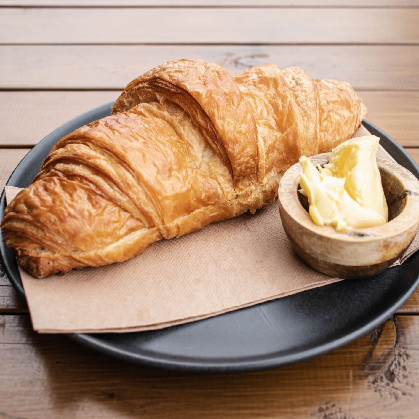 Croissant Toasted & Buttered