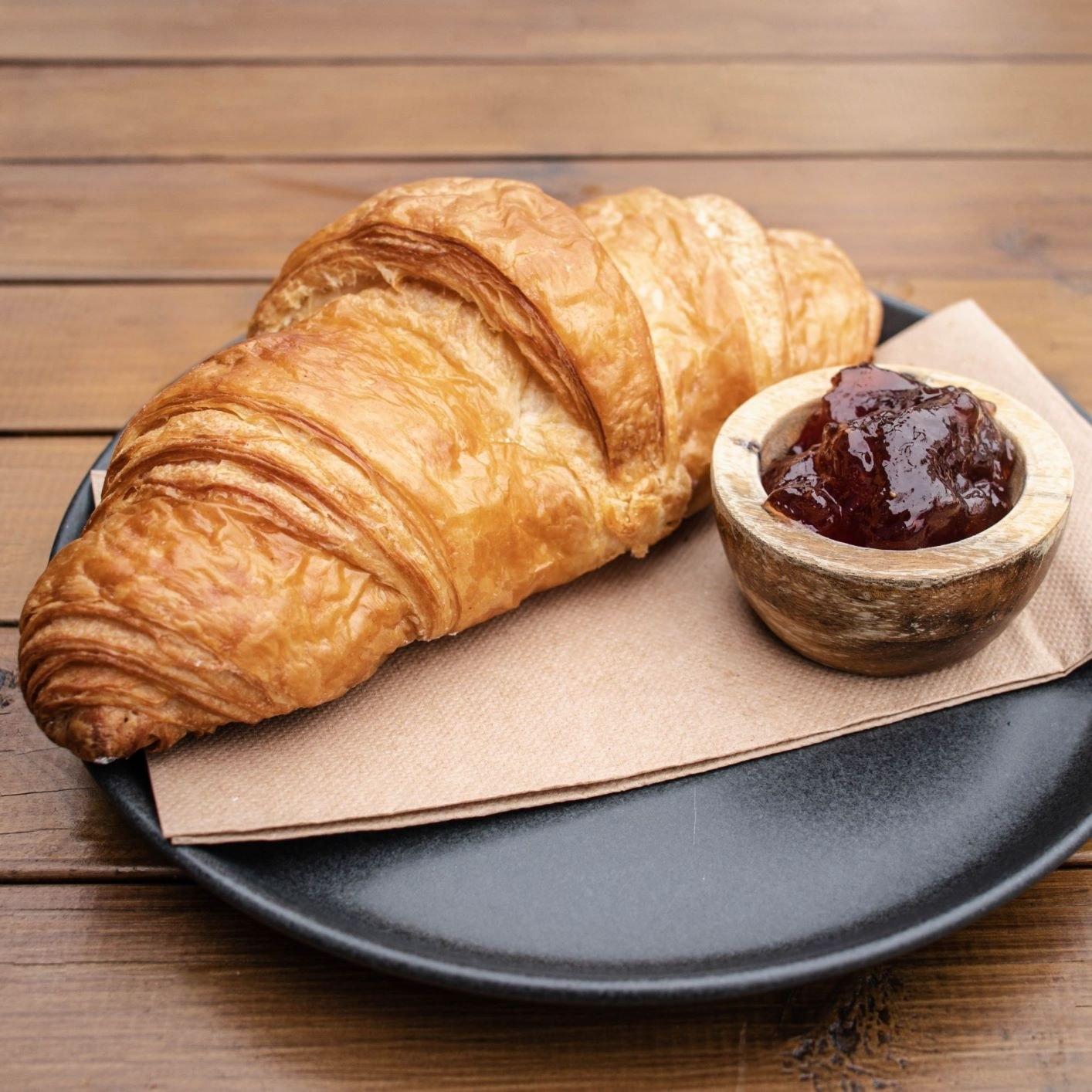 Croissant Toasted w Jam