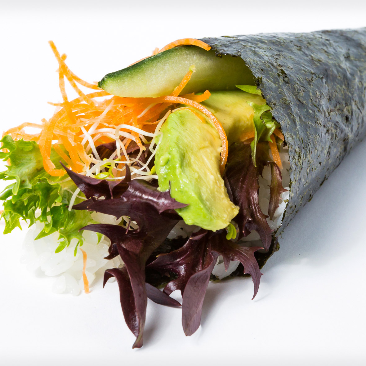 Mixed Vege Hand Roll (Vege)