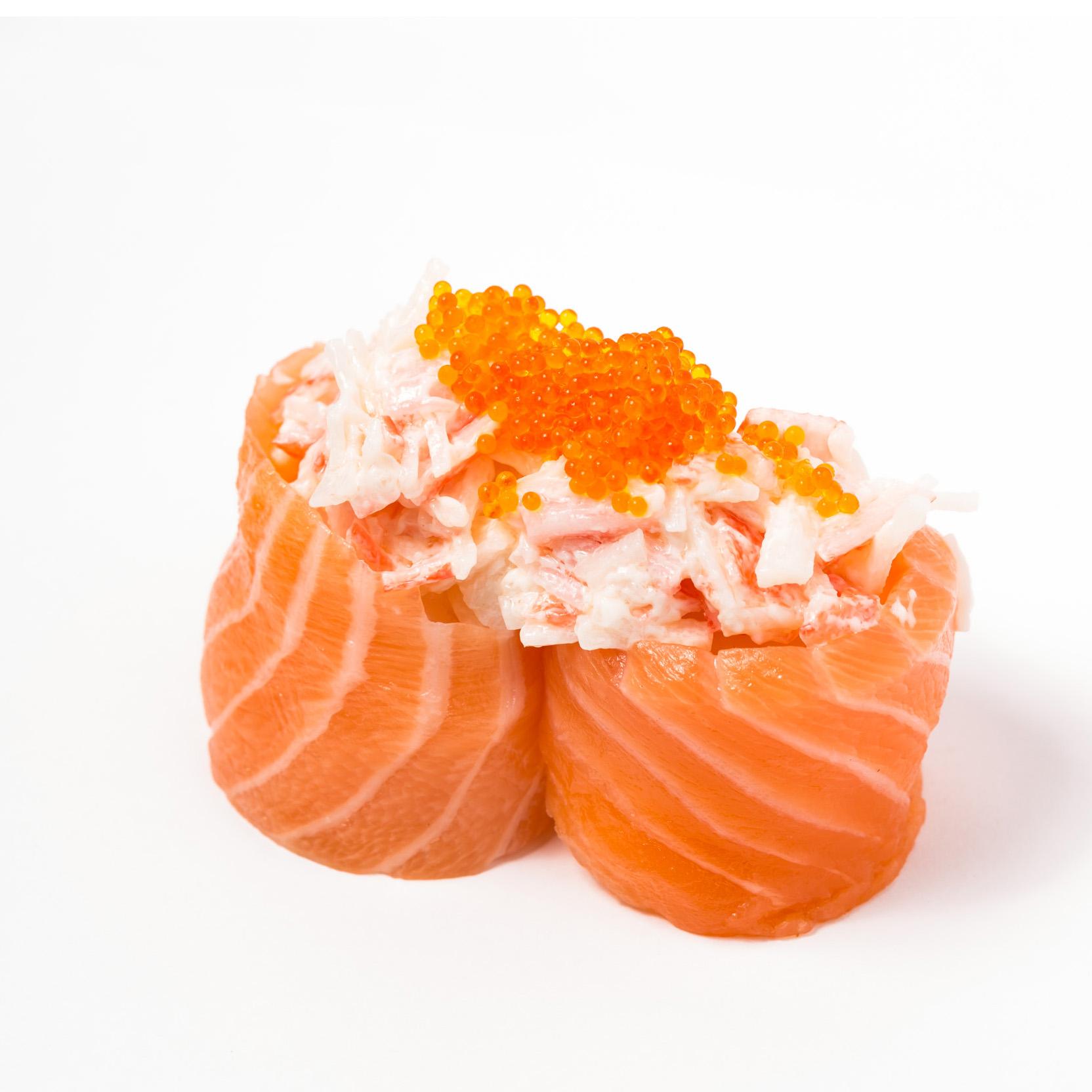 Kanikama Salad & Salmon