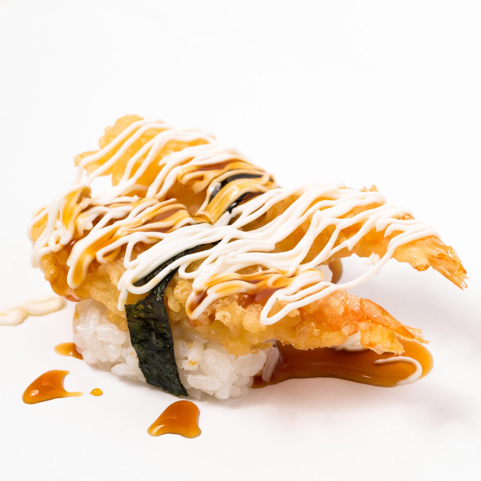 Ebi tempura Nigiri