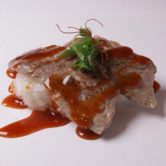 Aburi Spicy wagyu Nigiri (Spicy)