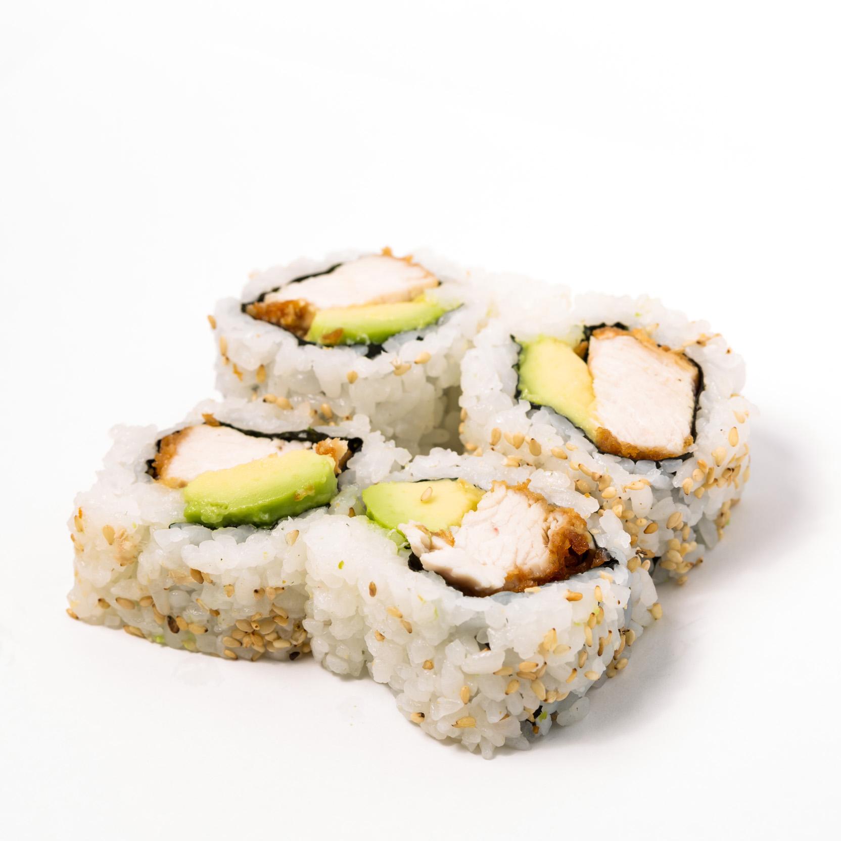 Chicken katsu avocado Roll