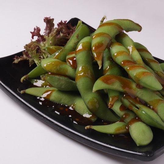 Spicy Edamame (Vege)