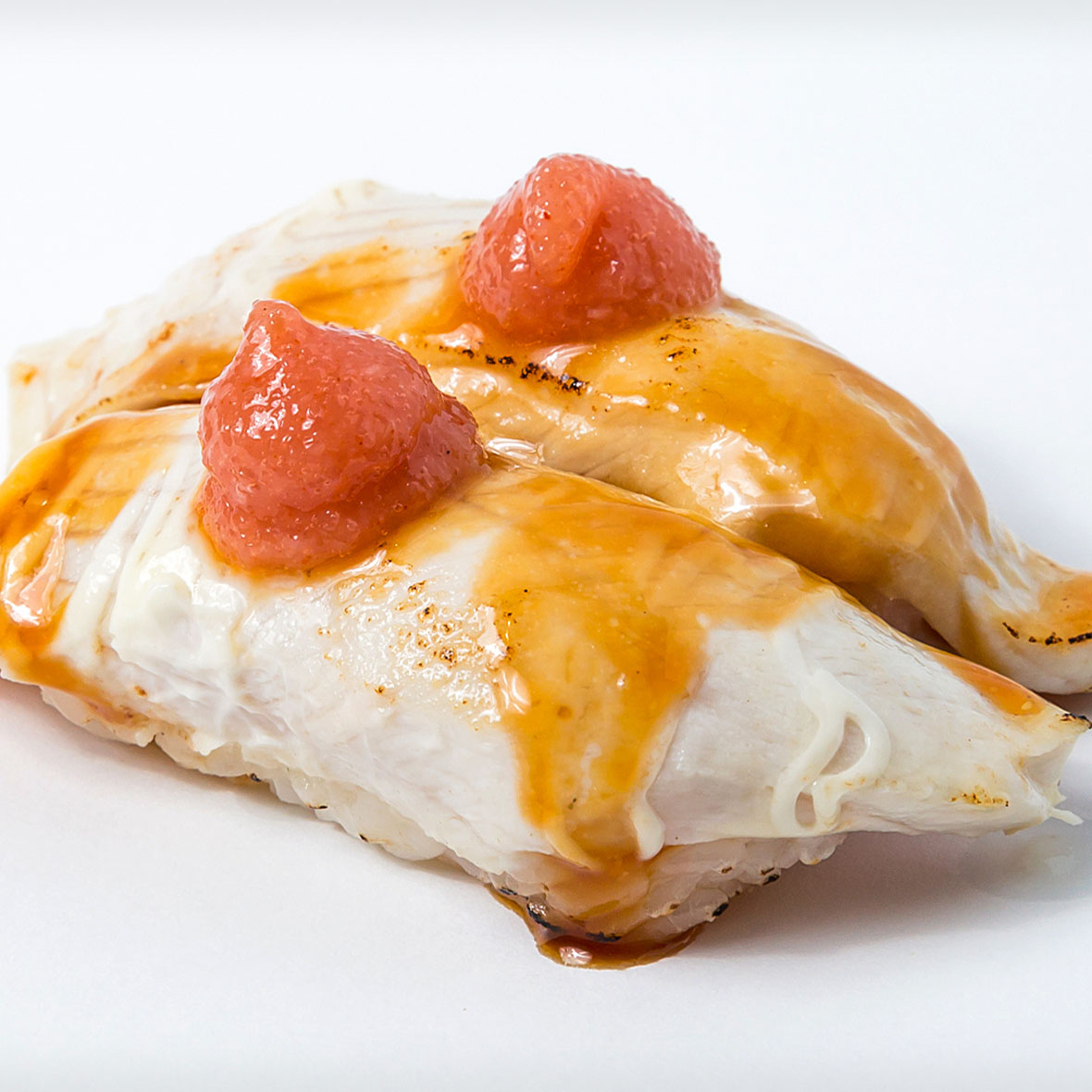 Aburi King fish Mentaiko Nigiri