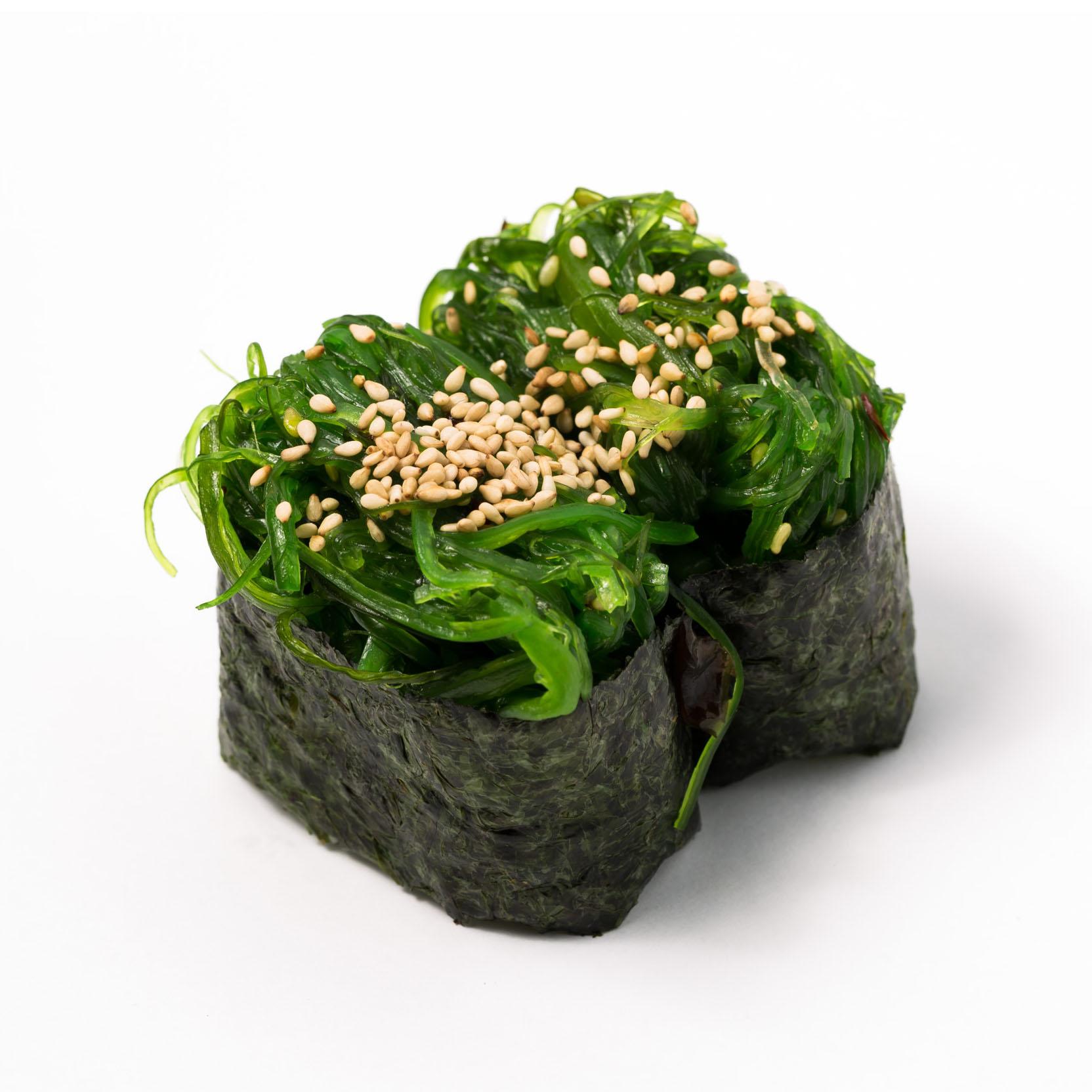 Seaweed Gunkan (Vege)