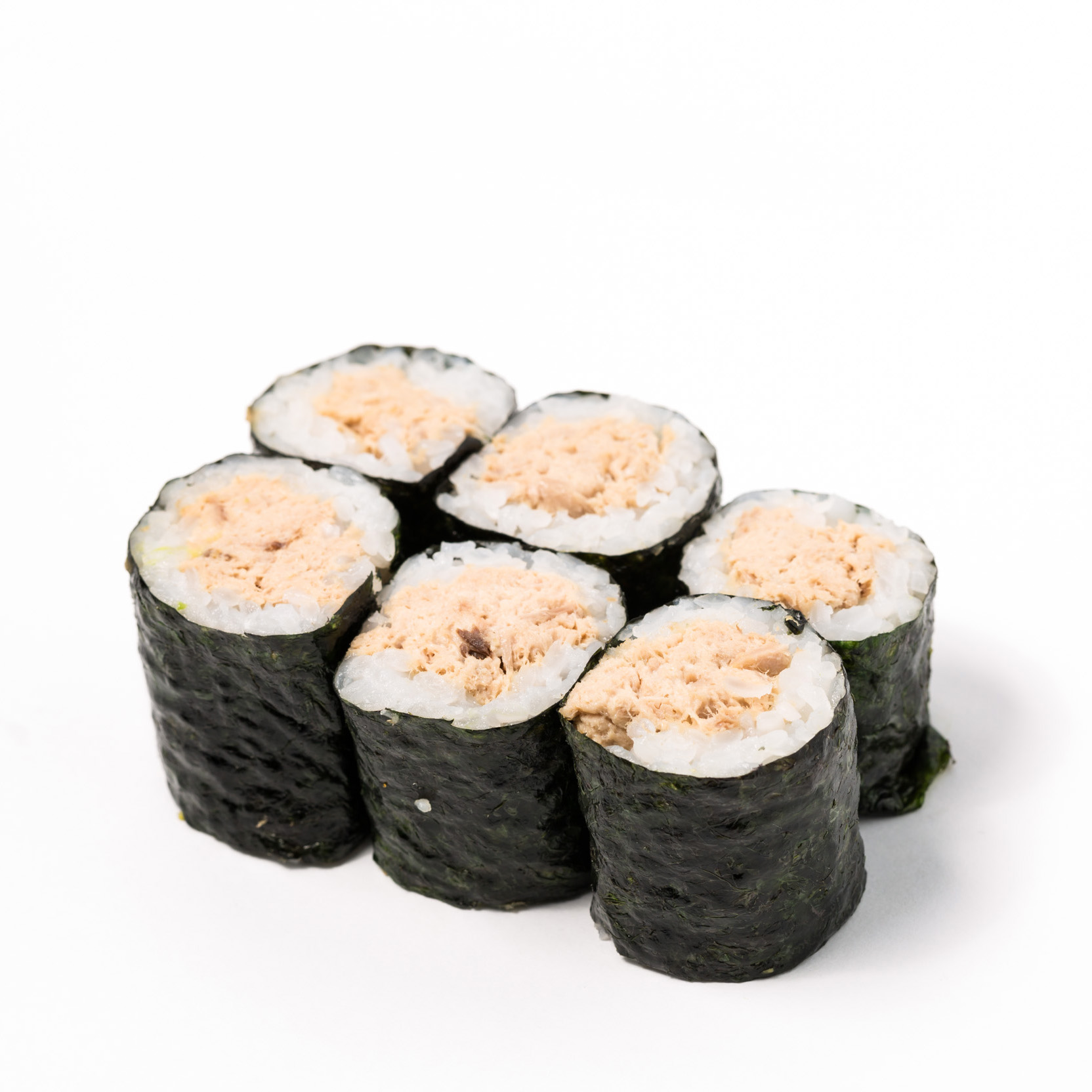 Cook tuna small Roll