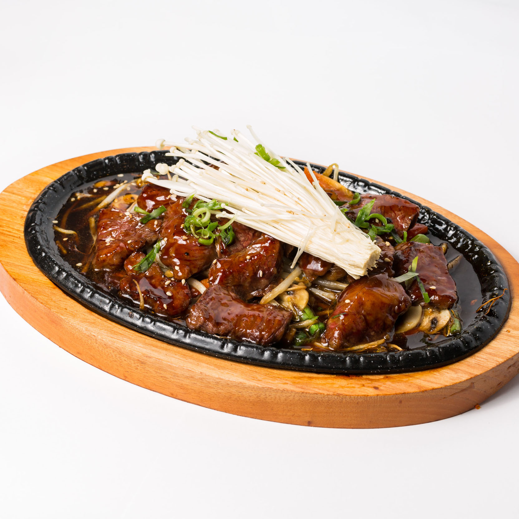 Wagyu Beef with Teriyaki Sauce