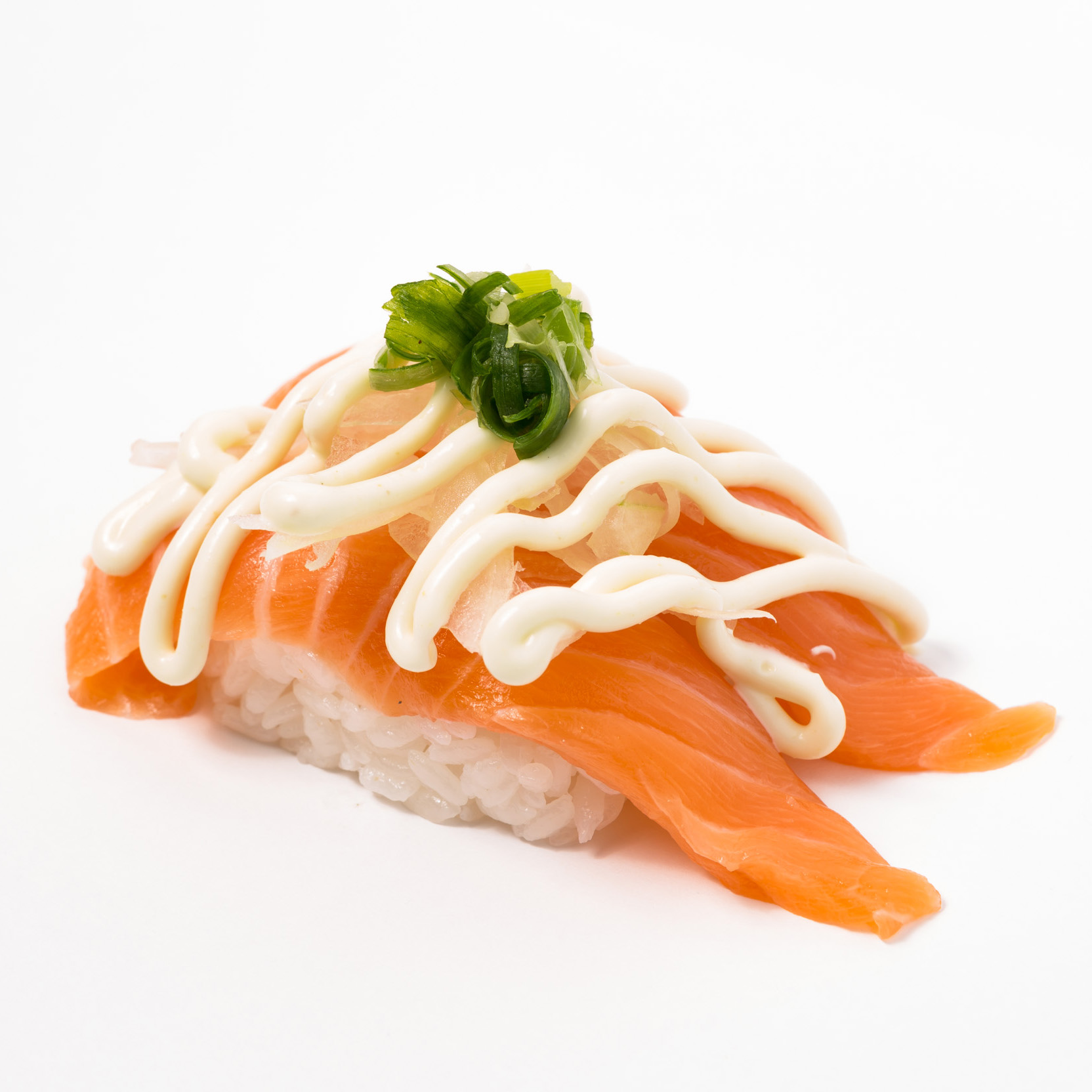 Salmon Onion Nigiri