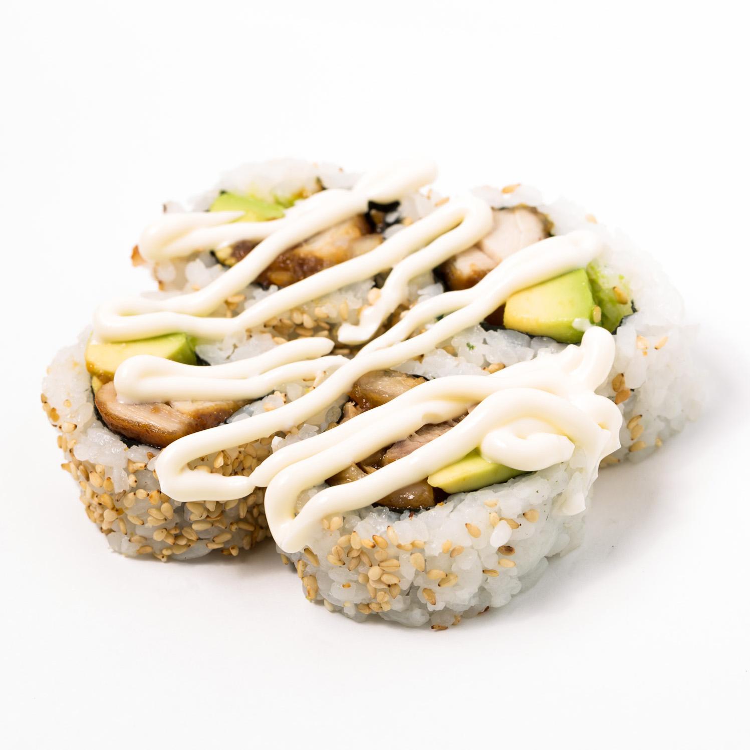 Teriyaki Chicken avocado Roll