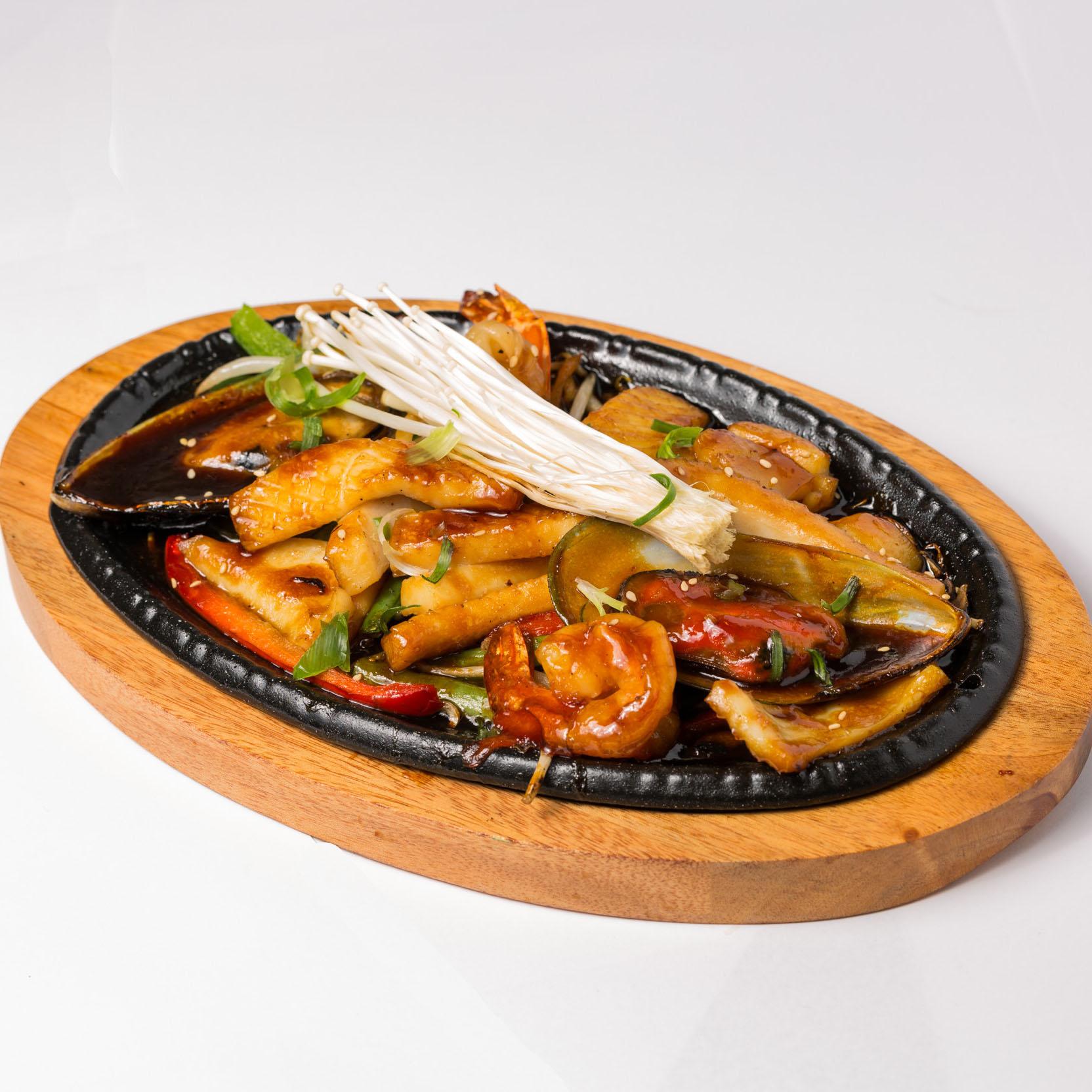 Teriyaki Seafood