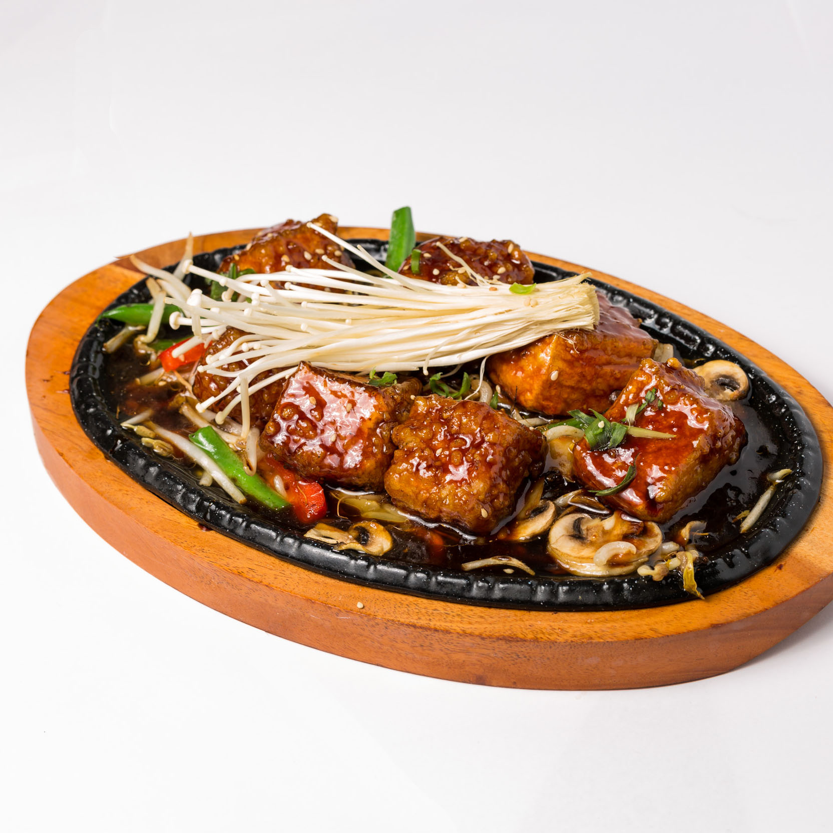 Teriyaki Tofu (Vege)