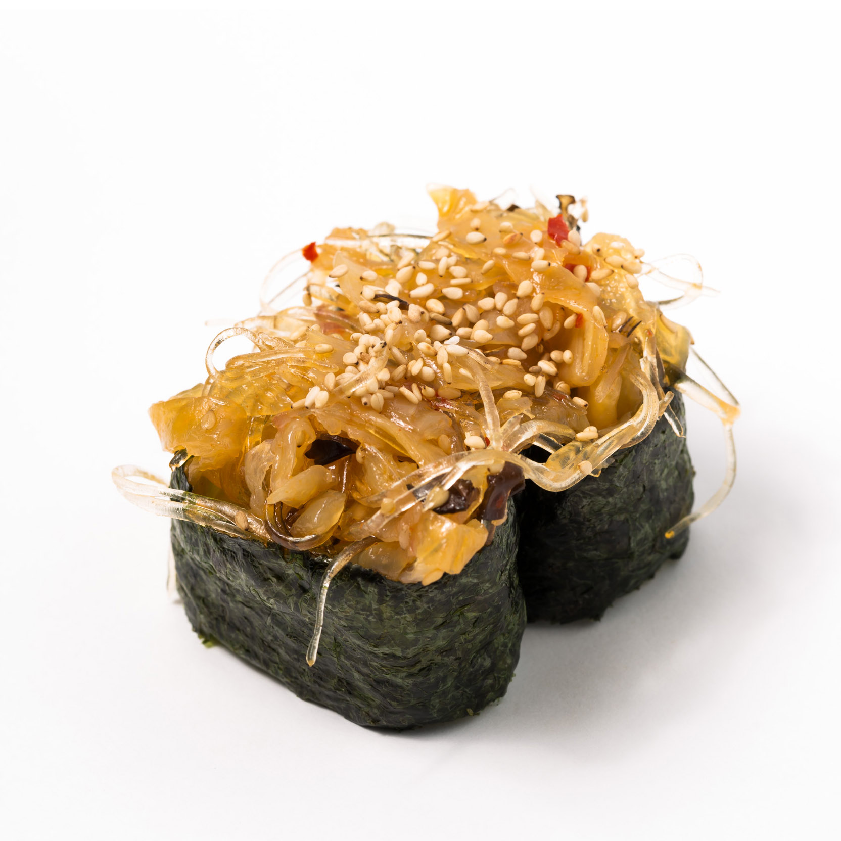 Jellyfish salad Gunkan
