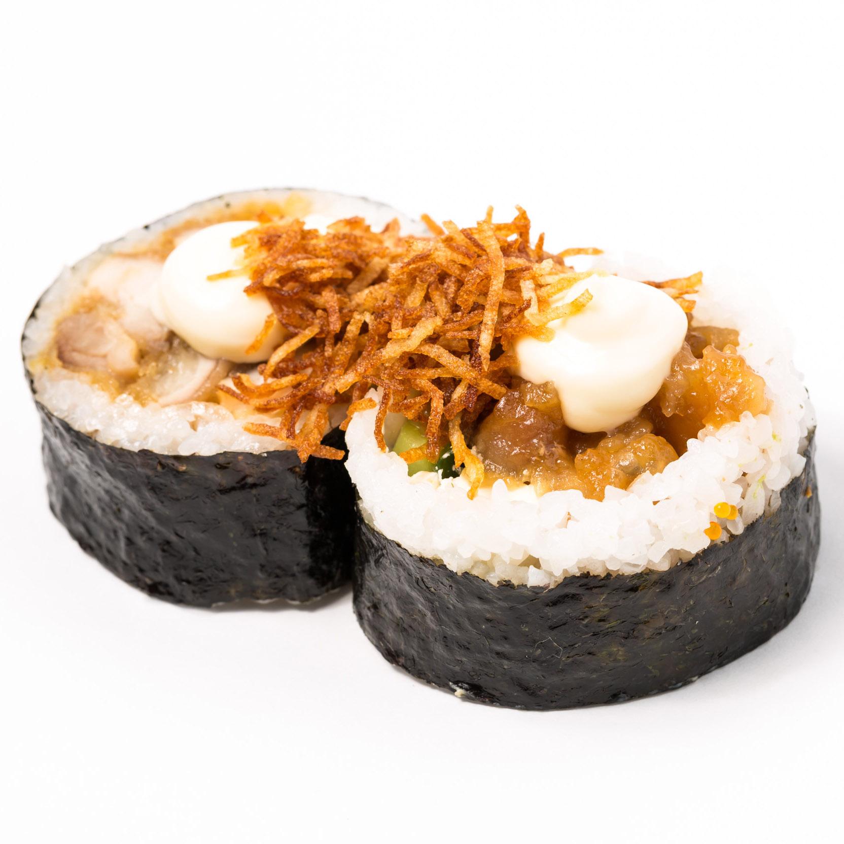 Teriyaki Chicken & Cream Cheese Roll