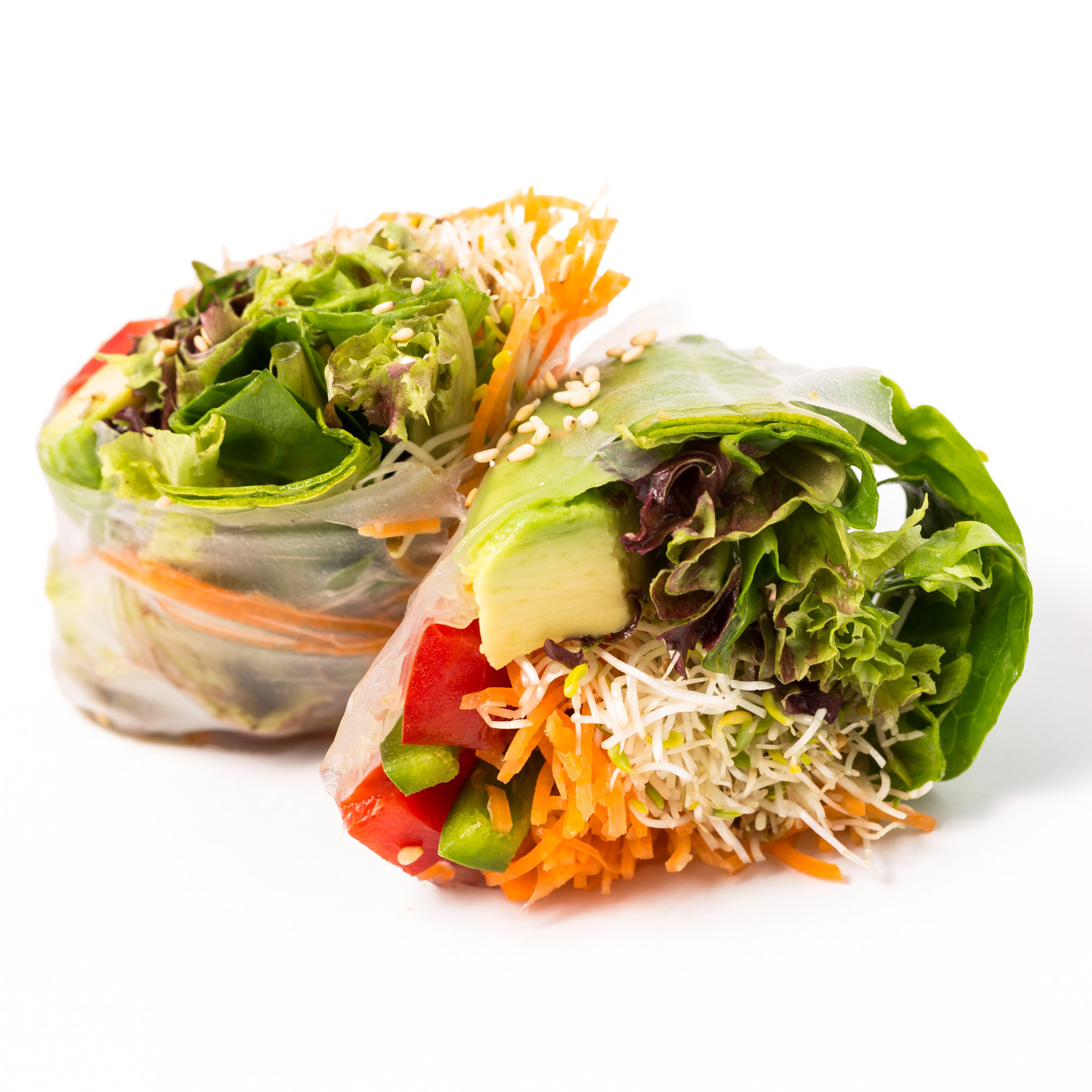 Rice Paper Roll w Vegetarian