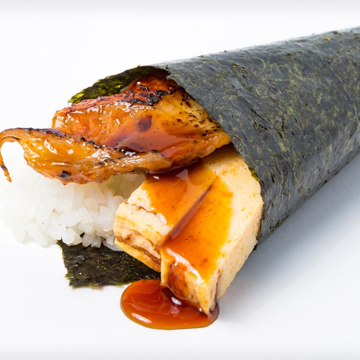 Eel Tamago Hand Roll