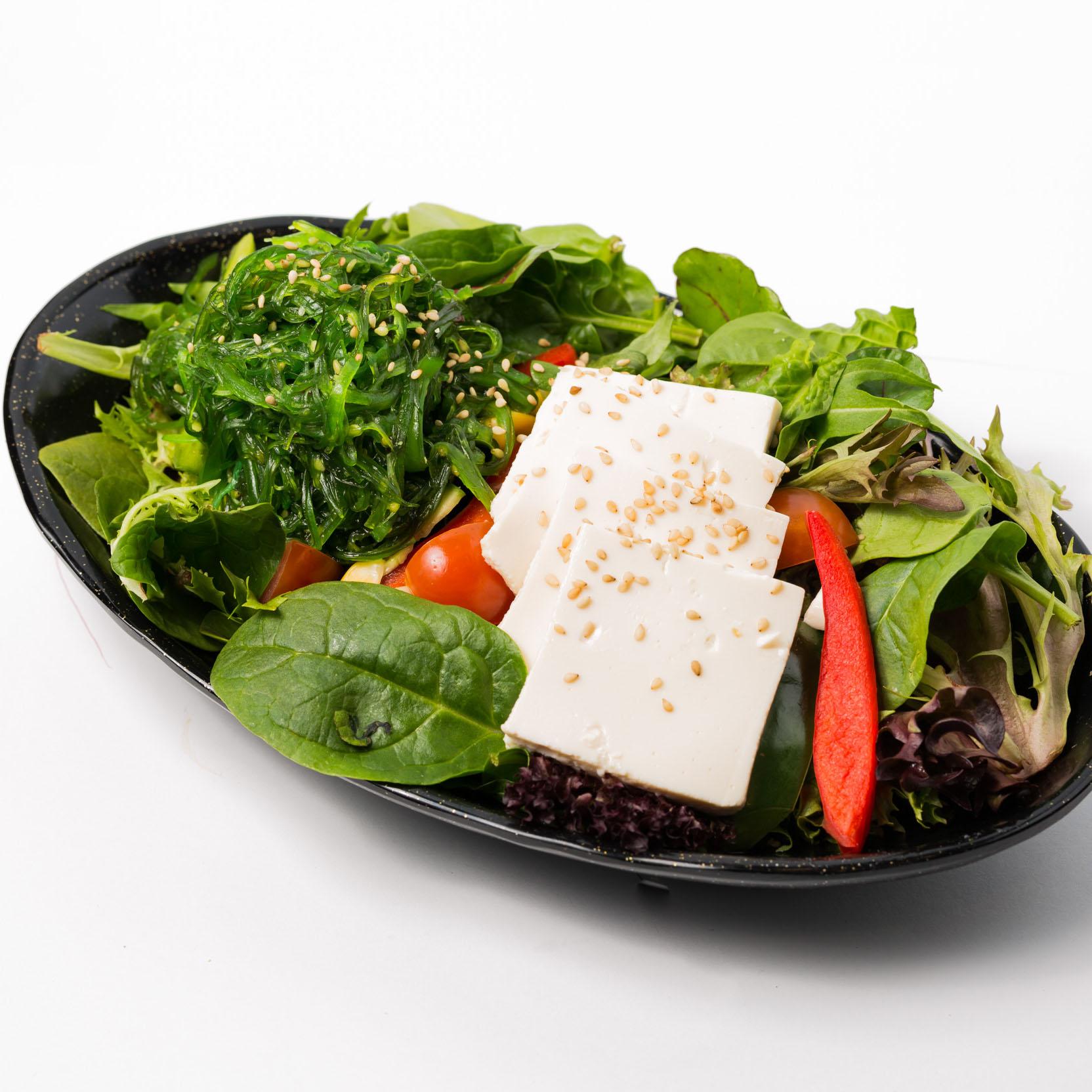 Tofu & Seaweed Salad - Vege