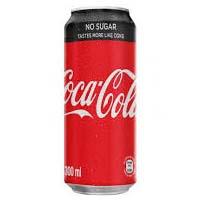 Coke No Sugar 330ml